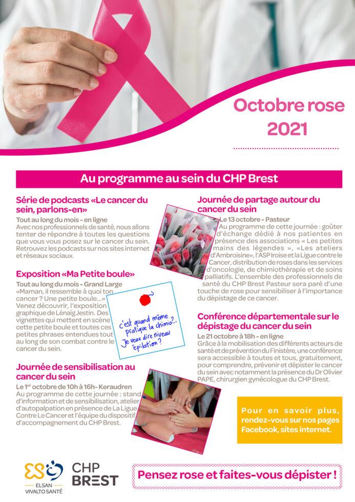 Affiche octobre rose 2021